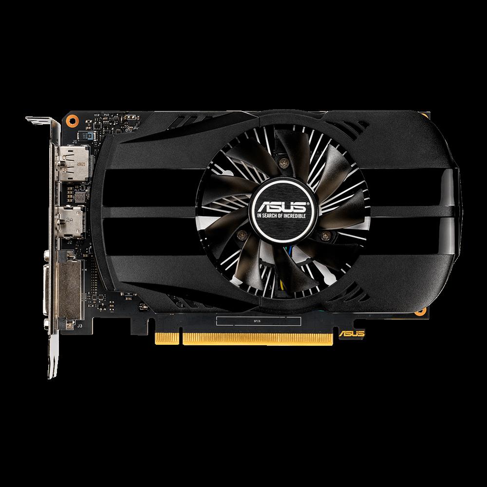 Placa de Vídeo Asus Phoenix NVIDIA GeForce GTX 1650 OC, 4GB, GDDR5 - PH-GTX1650-O4G - OEM