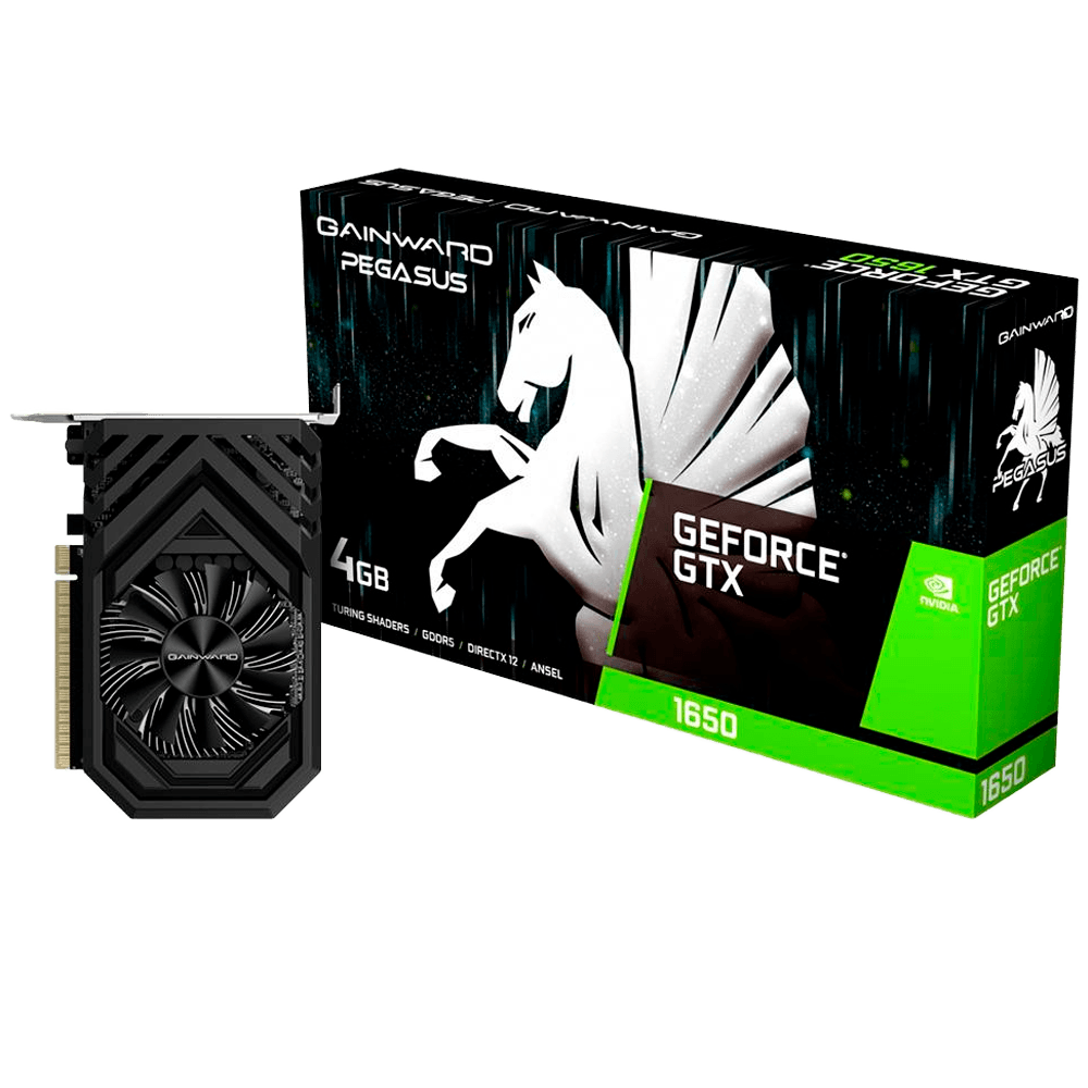 Placa de Vídeo Gainward NVIDIA GeForce GTX 1650 Pegasus, 4GB, GDDR5 - NE51650006G1-1170F