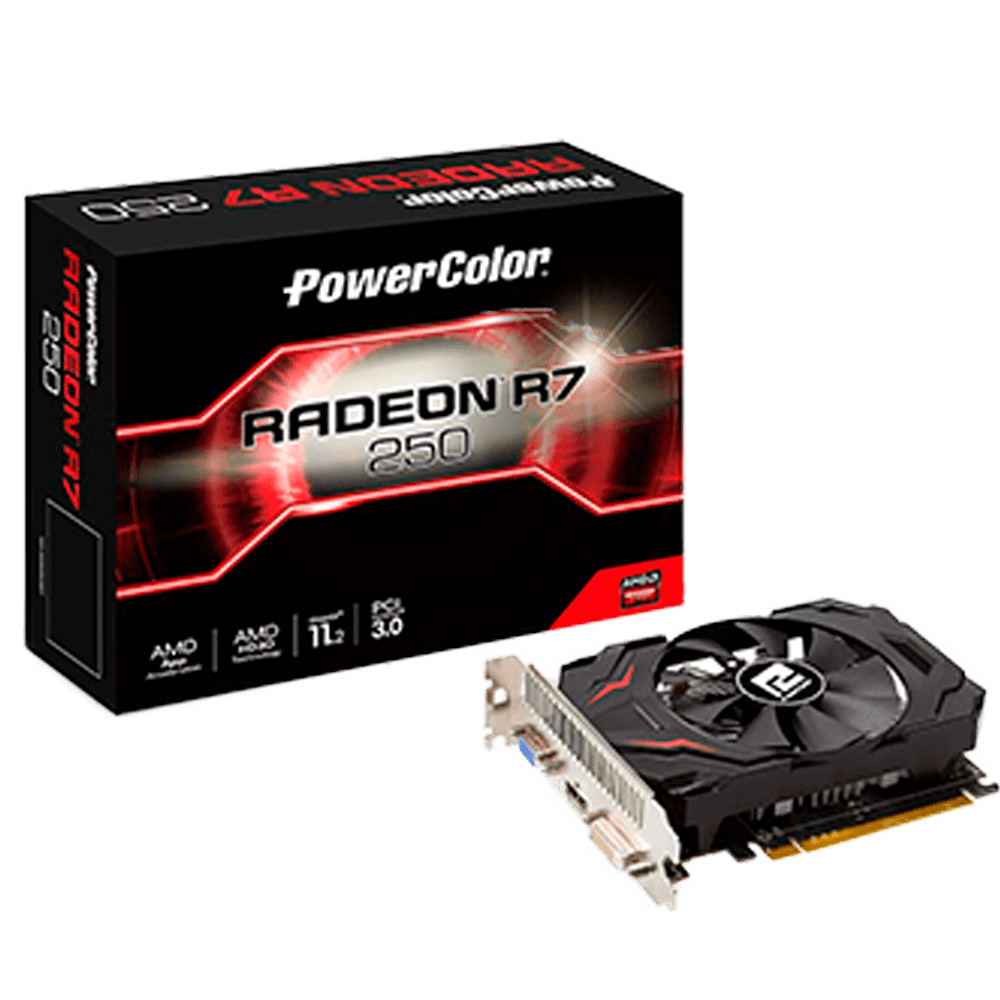 Placa de Vídeo, R7 250, 2GB / Gddr5 / 128Bits, Power Color