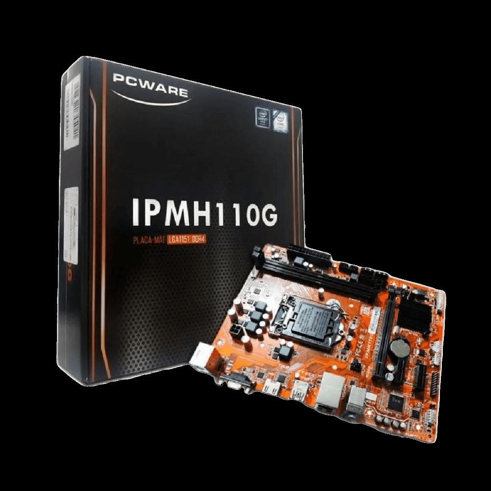 Placa Mãe 1151 Pcware DDR3 - IPMH110G