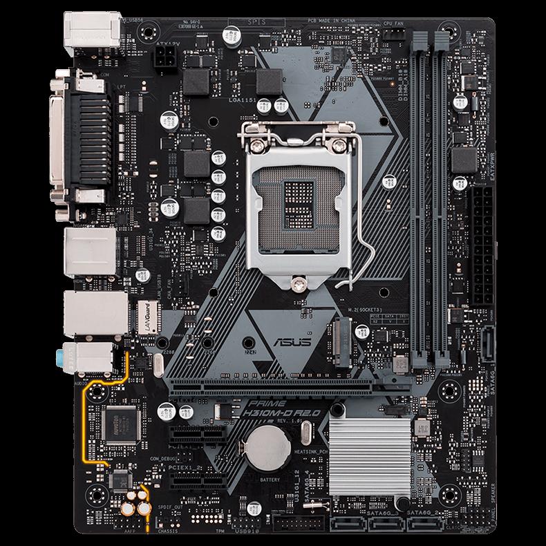Placa Mae 1151 Prime H310M-D R2.0 DDR 4 LGA 1151 8 Geração