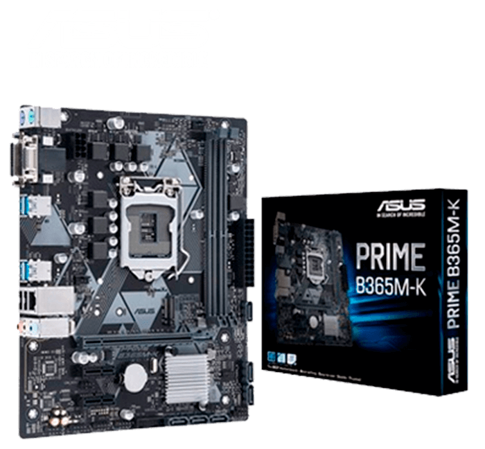 Placa-Mãe Asus Prime B365M-K, Intel LGA 1151, mATX, DDR4