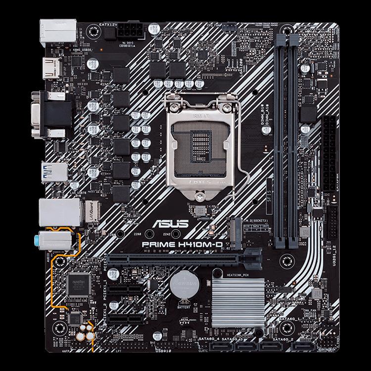 Placa-Mãe Asus Prime H410M-D, Intel LGA 1200, mATX, DDR4