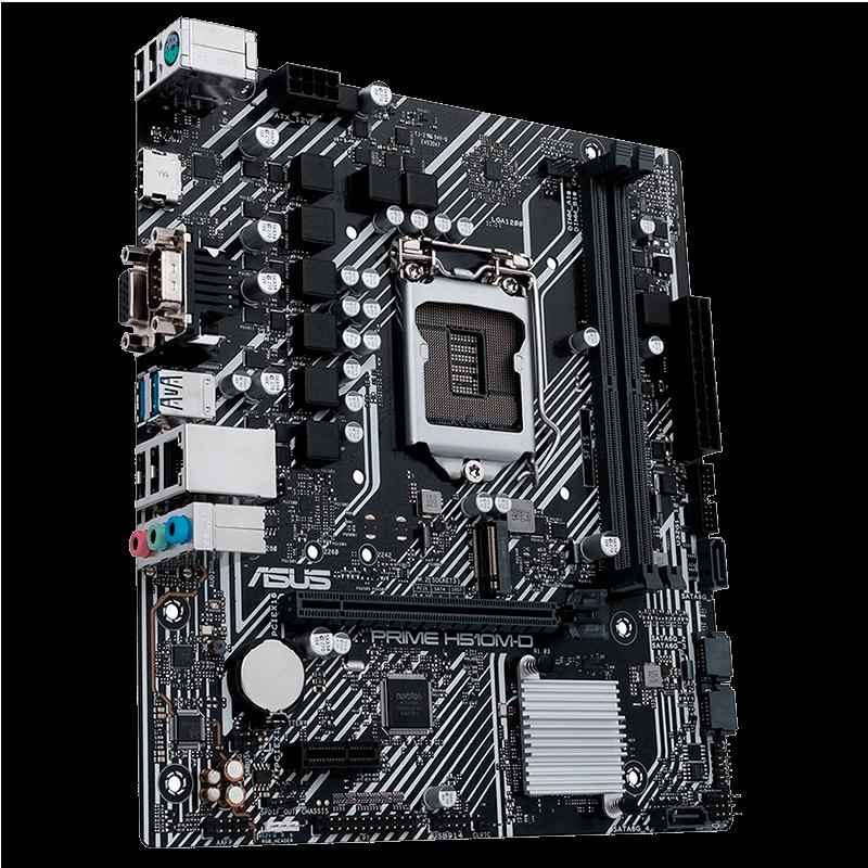 Placa Mae Asus Prime H510M-D DDR4 LGA1200 Intel H510, PRIME H510M-D