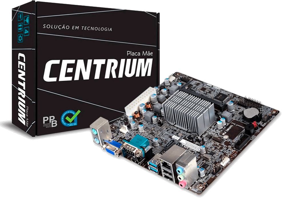 Placa Mae Com Processador Intel Centrium C2019-bswi-d2-n3050 DualCore 1.6ghz Hdmi Braswell M-itx