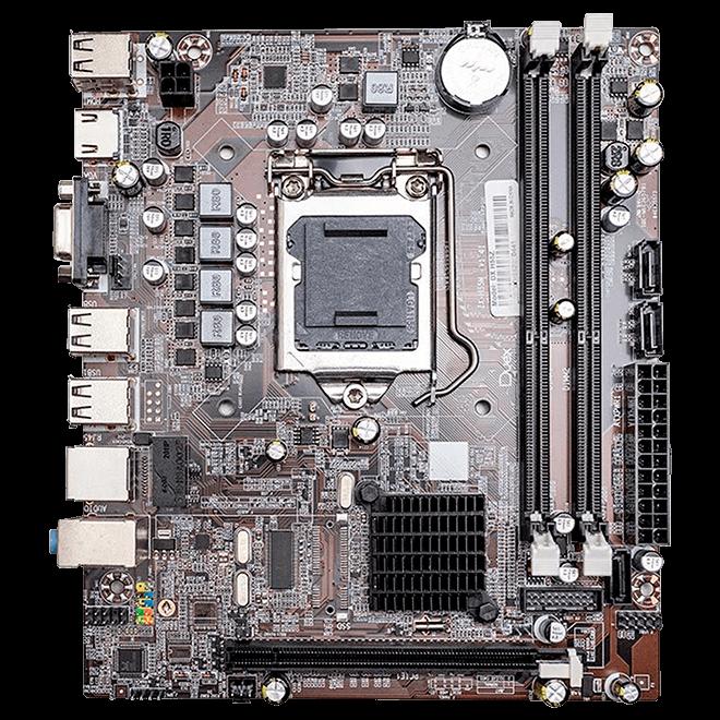 Placa Mae Duex DX H55Z DDR3 Socket LGA 1156 Chipset Intel H55, DX H55Z