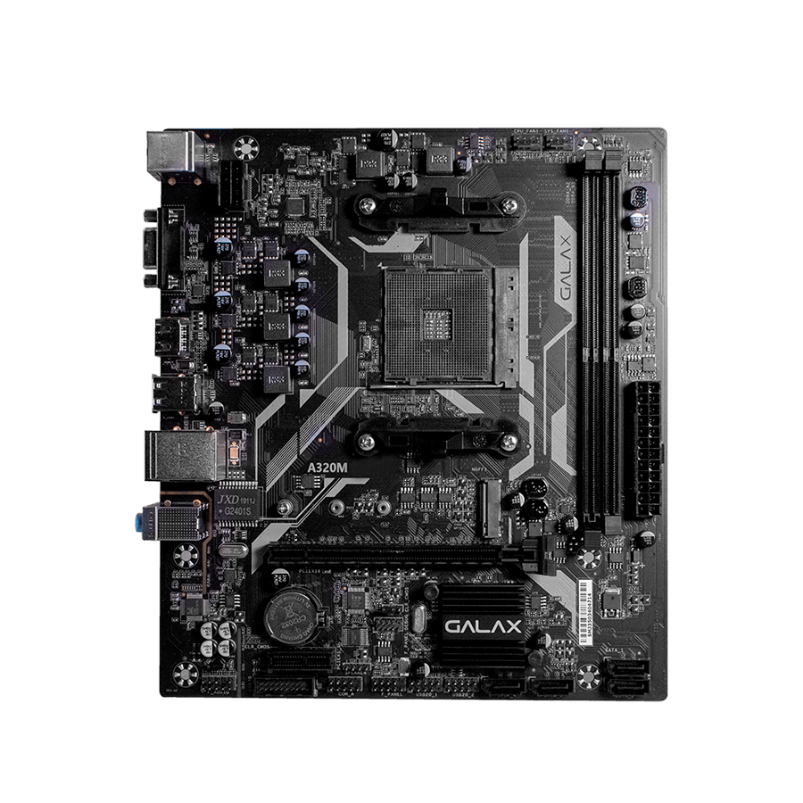 Placa Mãe Galax A320M V1.0 AMD AA320MAGL01BW