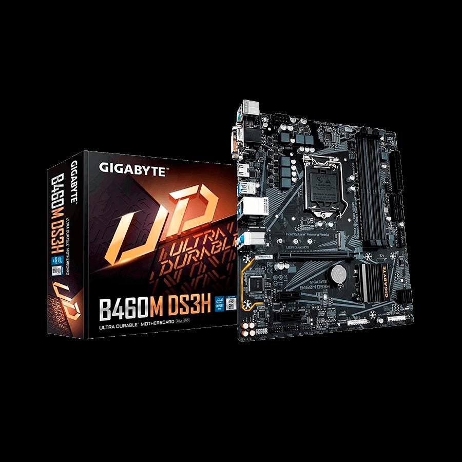 Placa-Mãe Gigabyte B460M DS3H V2, Intel LGA 1200, mATX, DDR4