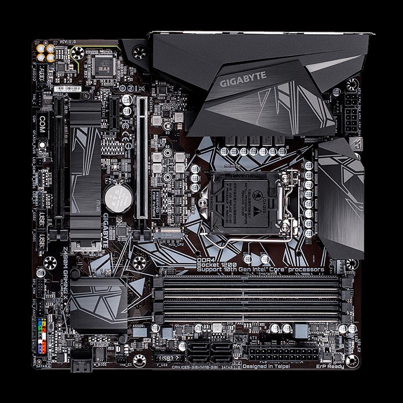 Placa-Mãe Gigabyte Z490 M Gaming X, LGA 1200, DDR4/HDMI