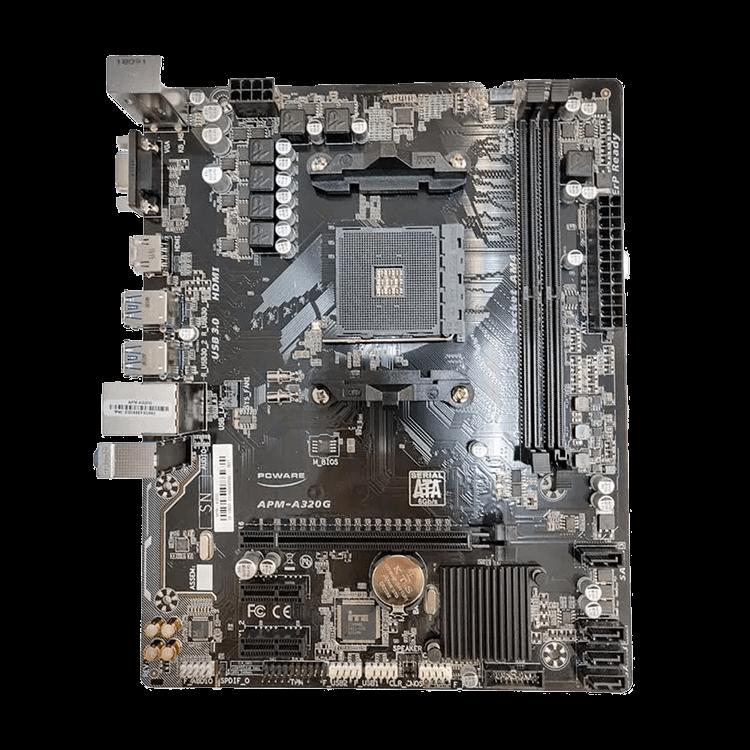 Placa Mãe PCWare APM-A320G AM4 DDR4