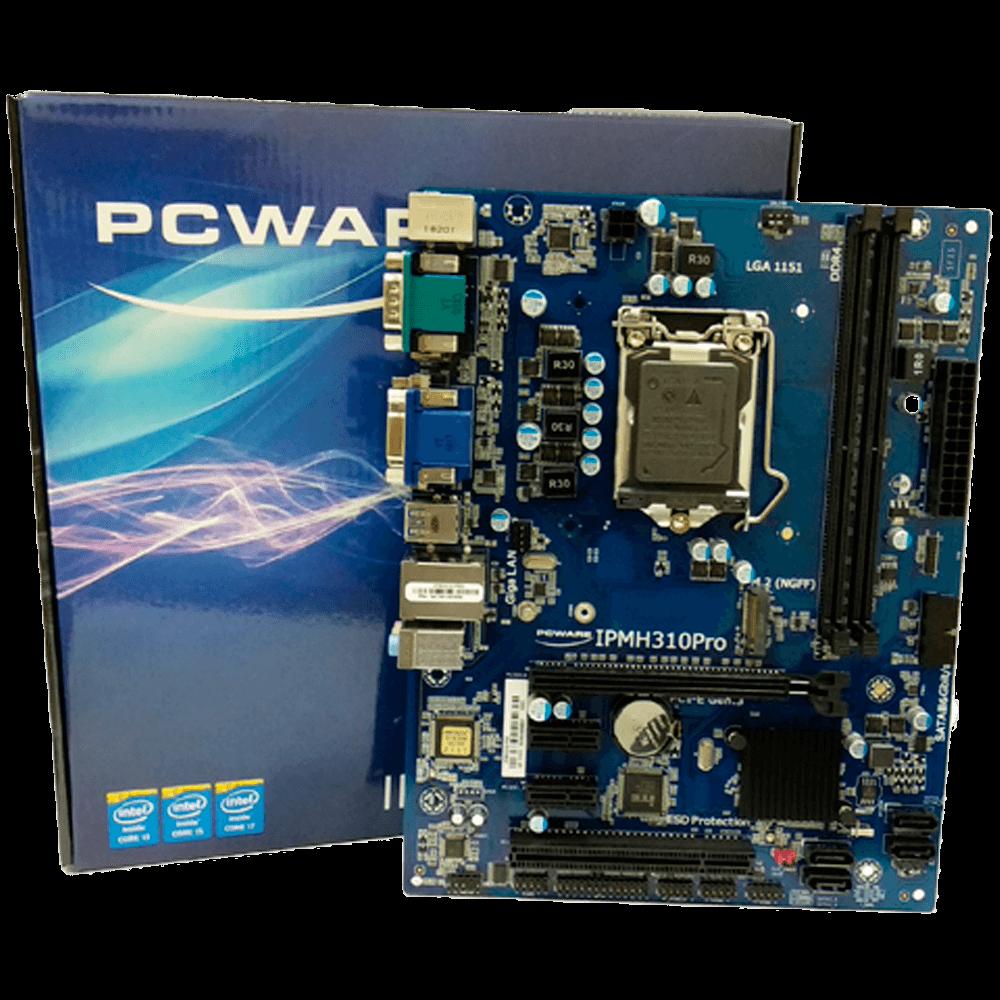 Placa mãe PCWare, PRO DDR4 -  IPMH310