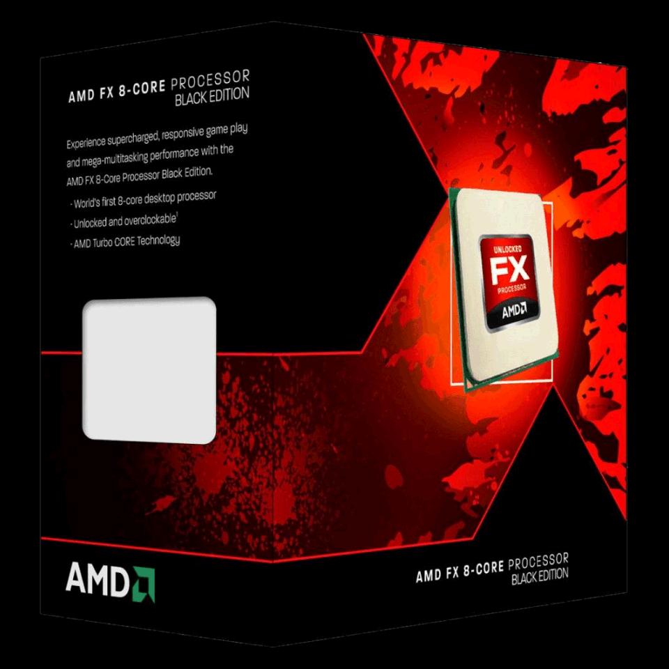 Processador AMD FX-9370 4.4GHz Octa Core 16MB AM3+ - FD9370FHHKWOF
