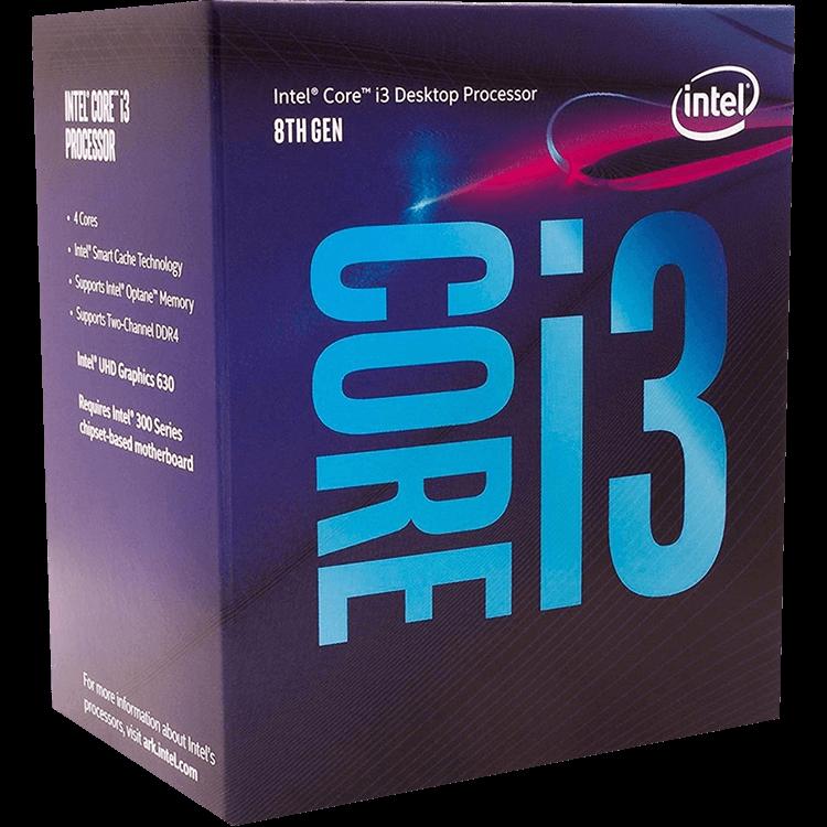 Processador Intel Core i3-8100 Coffee Lake LGA 1151 3.6Ghz 6MB Cache, BX80684I38100