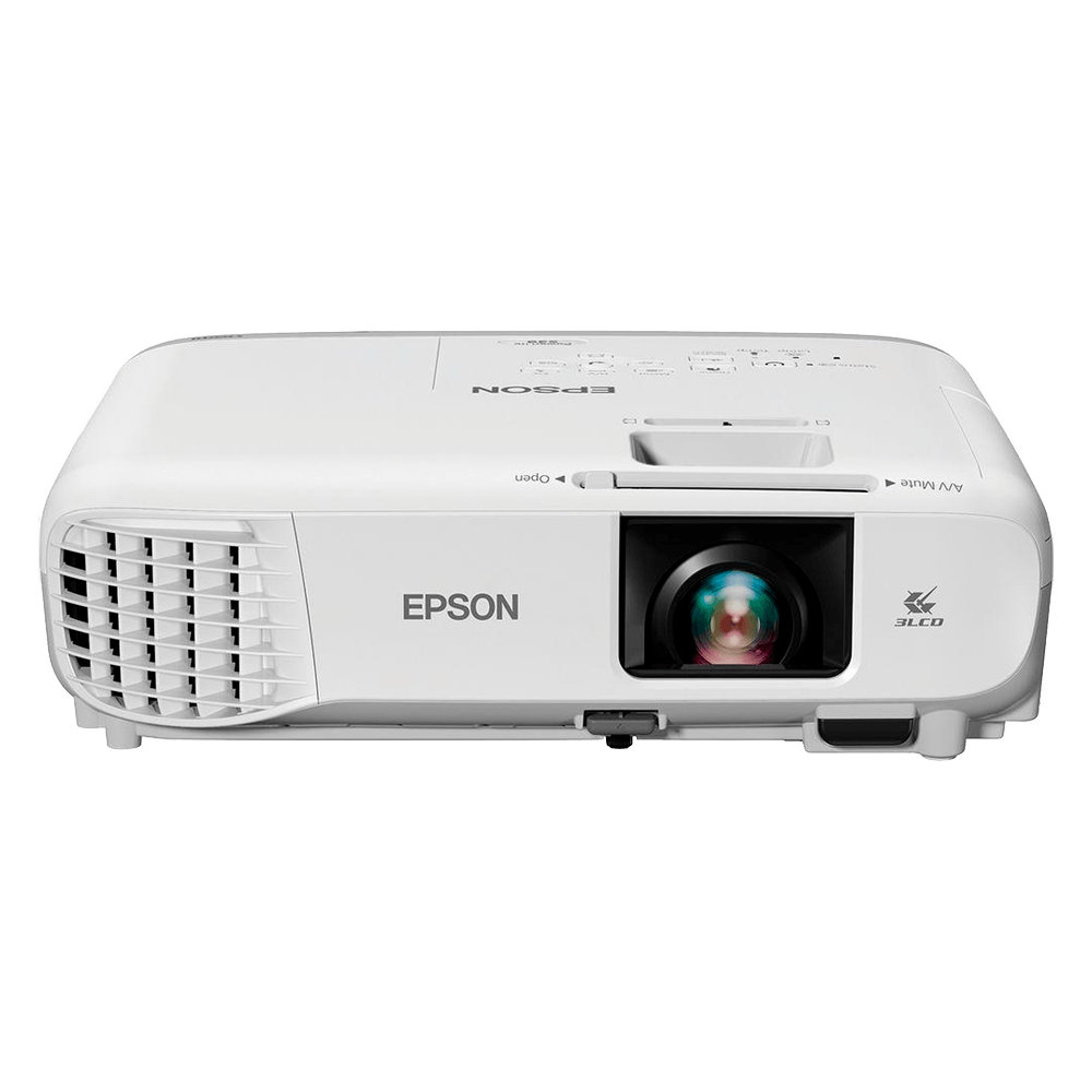 Projetor Epson S39, 3300 Lumens, SVGA, HDMI, Branco - V11H854024