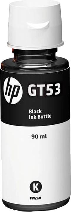 Refil de Tinta HP GT53 1VV22AL 90 ml Preto
