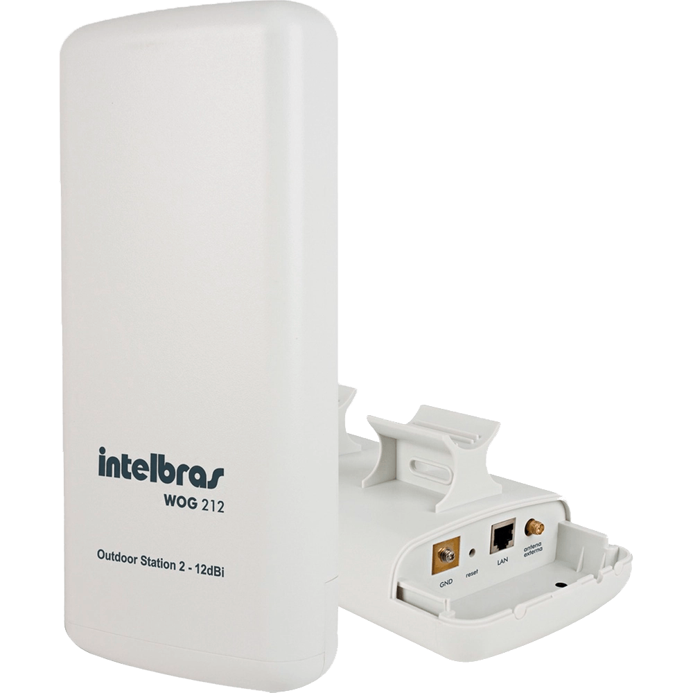 Roteador Cpe Wireless 2,4ghz 12dbi - Wog 212 Intelbras