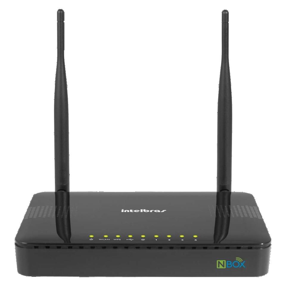 Roteador Intelbras NBOX Wireless-N 300 Mbps