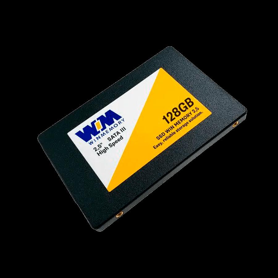 SSD 128GB WIN MEMORY SATA 2,5? Leitura 560MB/s - Gravação 540MB/s SWR128G