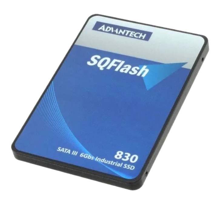 SSD advantech, 128GB, SATA, Leitura 540MB/s, Gravação 520MB/s
