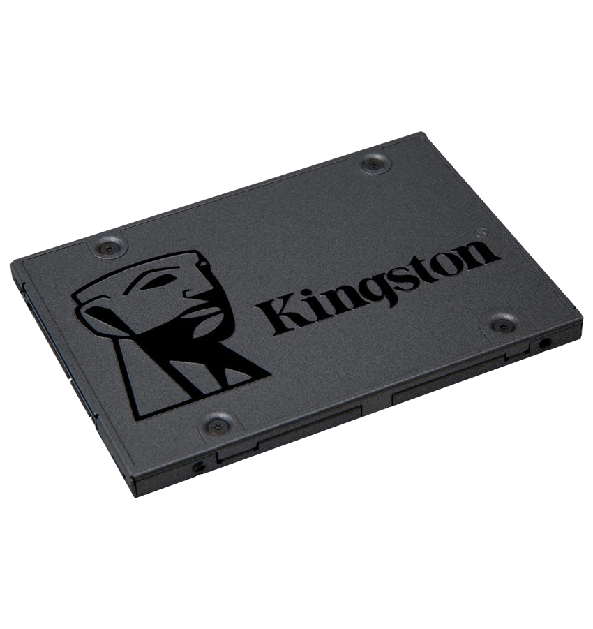 SSD Kingston 2.5´ 480GB A400 SATA III Leituras: 500MBs / Gravações: 450MBs