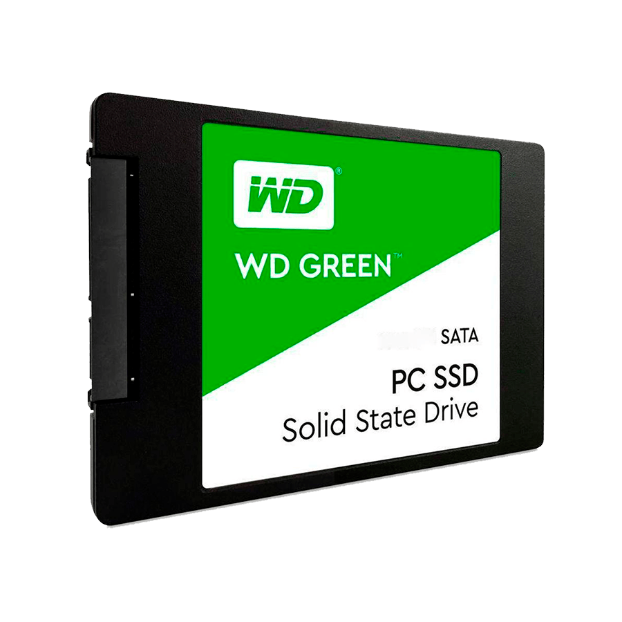 SSD WD Green, 1TB, SATA, Leitura 545MB/s, Gravação 430MB/s - WDS100T2G0A