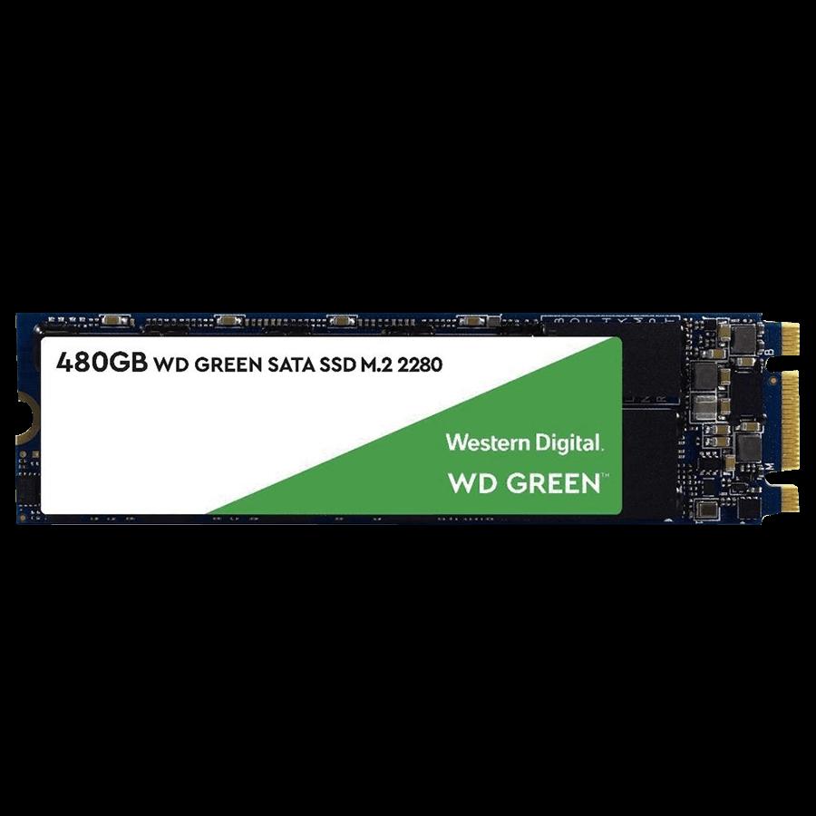 SSD WD Green, 480GB, M.2, Leitura 545MB/s - WDS480G2G0B
