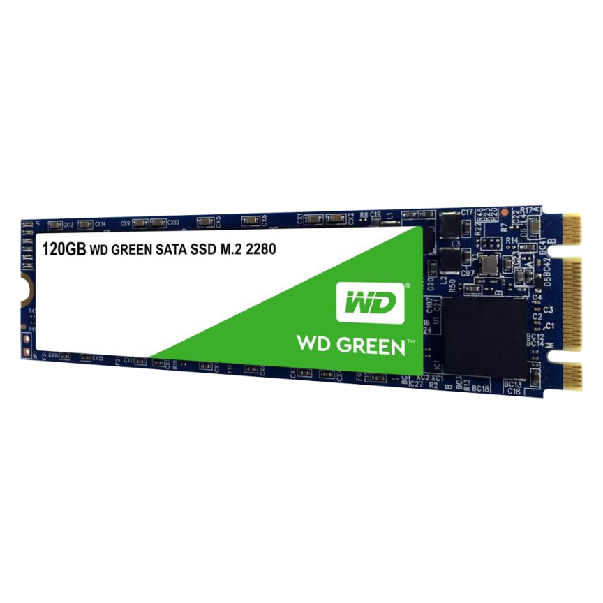 SSD WD Green M.2 2280 120GB Leituras: 545MB/s - WDS120G2G0B