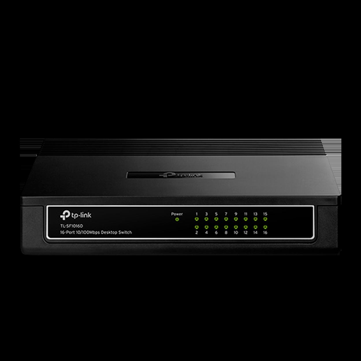 Switch 16 Portas TP-Link 10/100 Mbps - TL-SF1016D