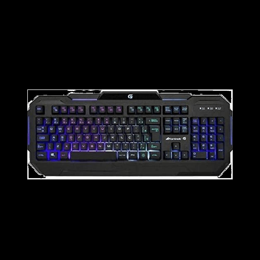 Teclado Gamer Fortrek, RGB, ABNT2 - K1