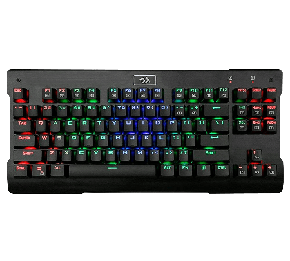 Teclado Mecânico Gamer Redragon Visnu, RGB, Switch Outemu Blue, PT - K561RGB