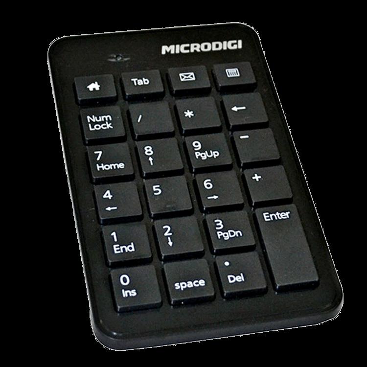 Teclado Numerico Usb Microdigi MD-K300
