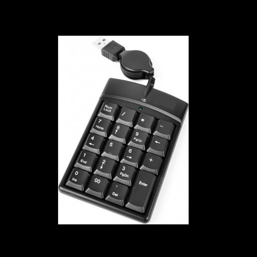 TECLADO USB NUMERICO DEX LTK218