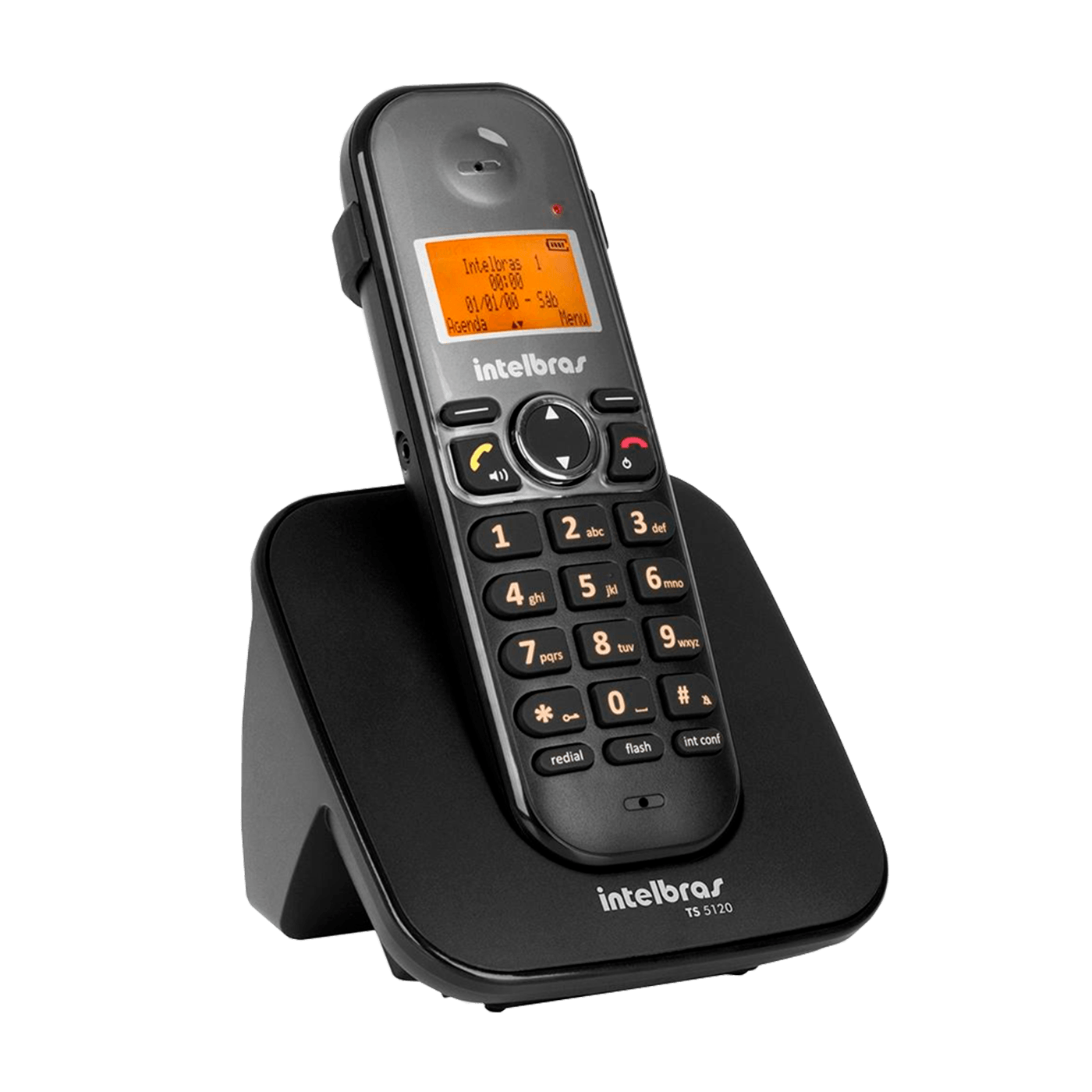 Telefone Intelbras Sem fio Digital Preto - TS5120