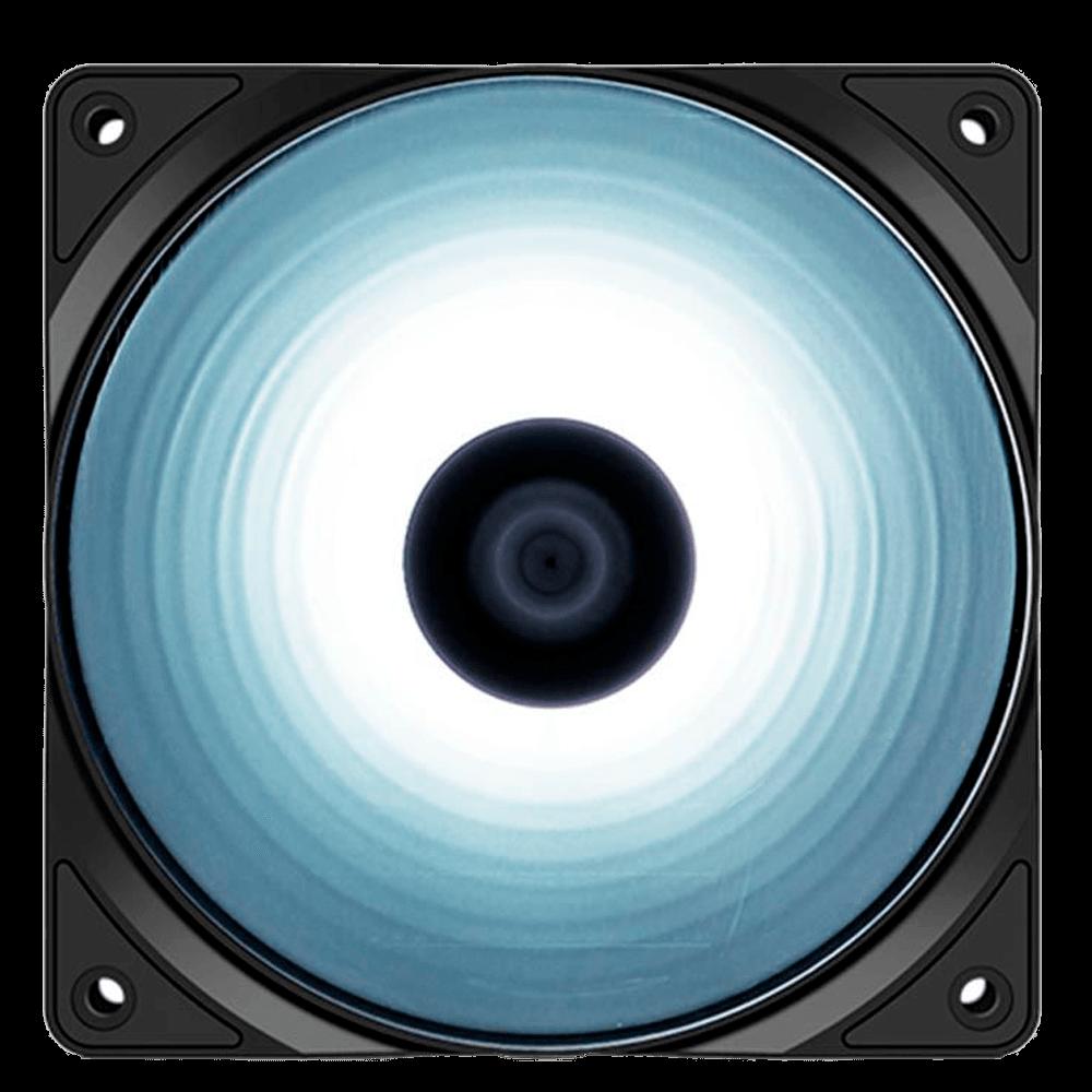 Ventoinha DeepCool RF120 Led Branco - DP-FLED-RF120-WH