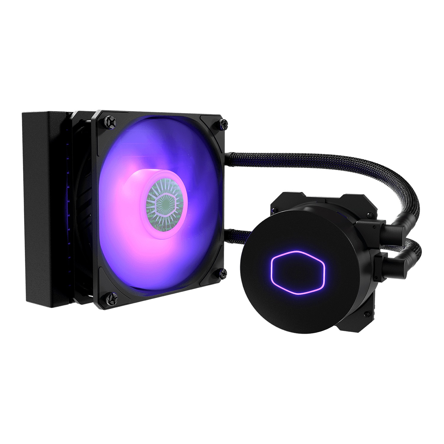 Water Cooler Cooler Master MasterLiquid ML120L V2 RGB, 120mm - MLW-D12M-A18PC-R2