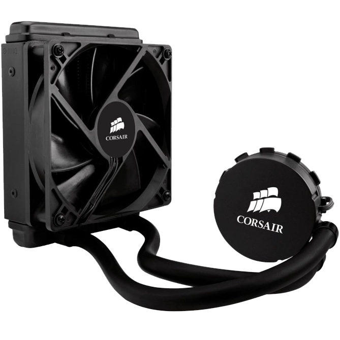 Water Cooler Corsair Hydro Series H55 120mm Intel/AMD, CW-9060010-WW