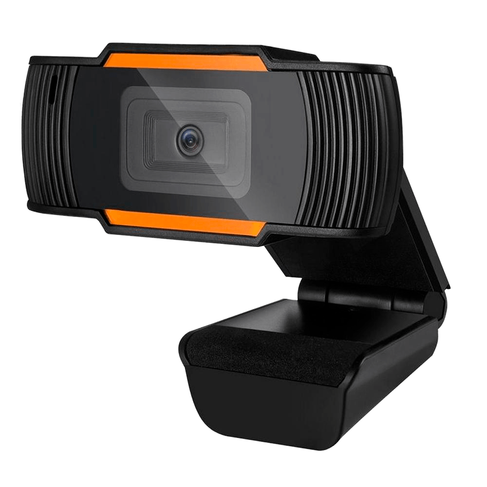 WebCam Brazil PC V5, HD 720p, Preto/Laranja