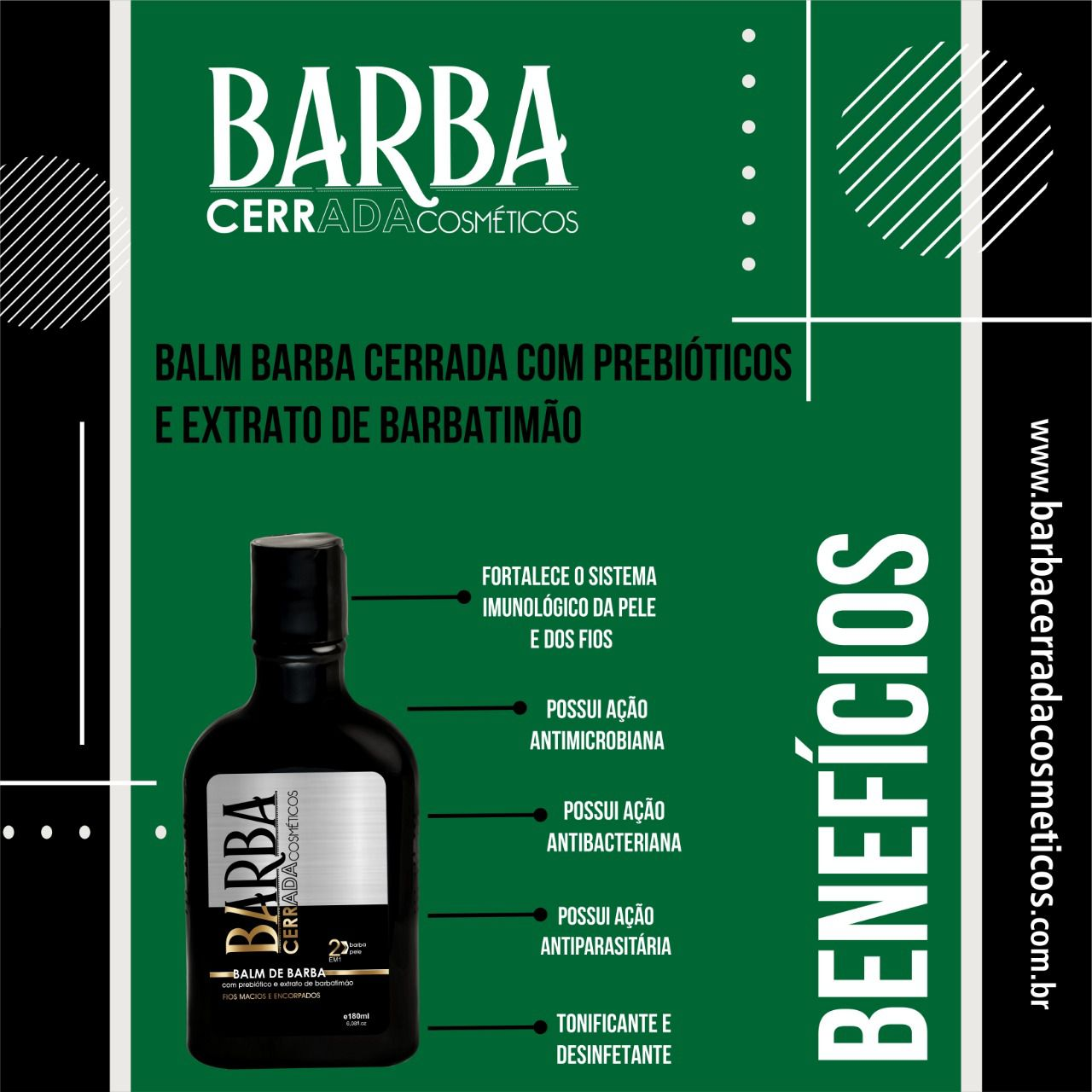 Balm 180ml Barba Cerrada