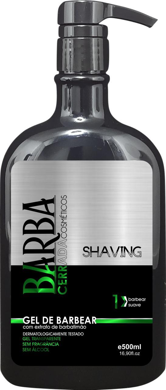 Gel de barbear 500ml (Shaving) Barba Cerrada