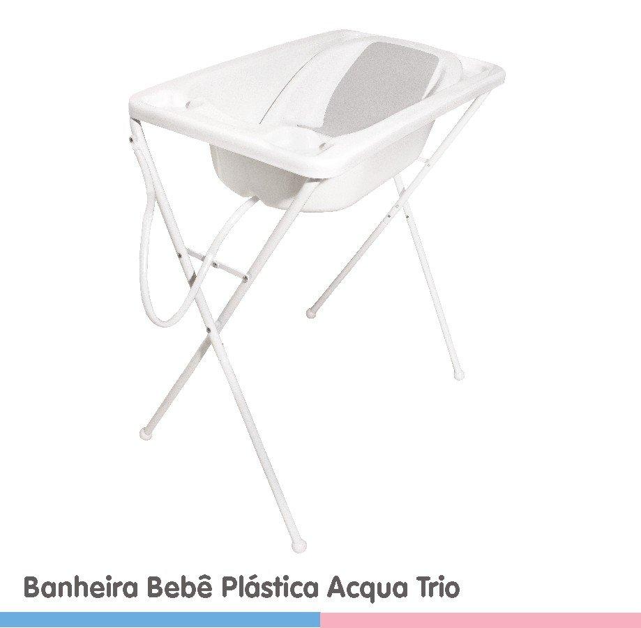 BANHEIRA BEBE PLASTICA ACQUA TRIO