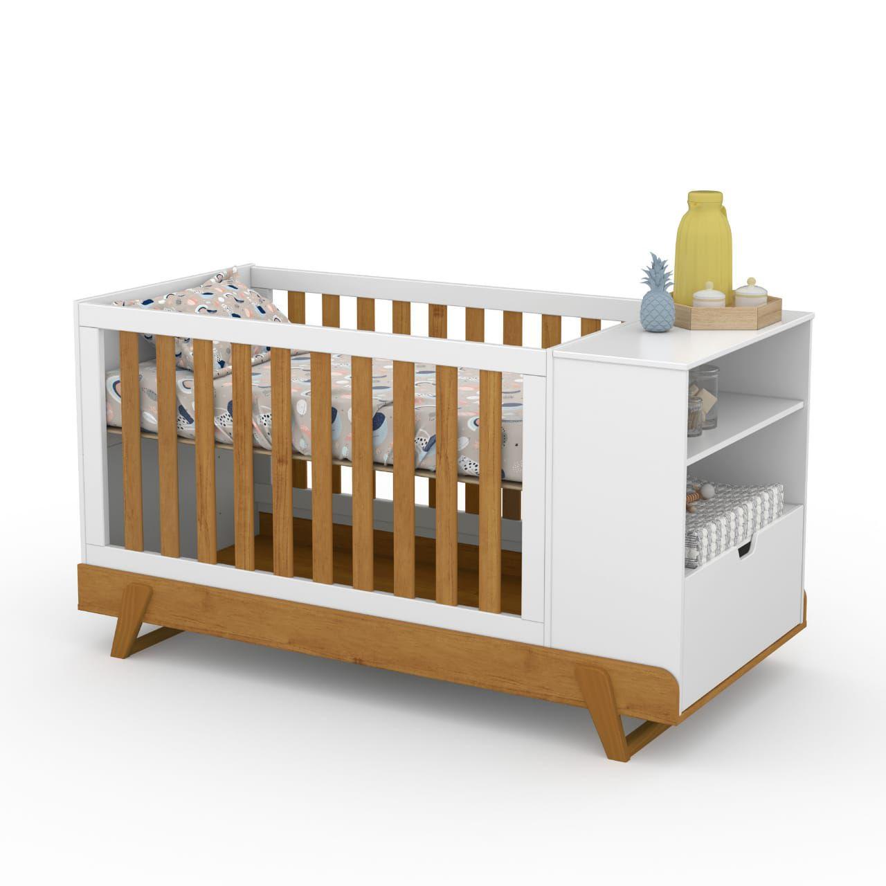 Berço de Bebê Multifuncional Bkids Matic