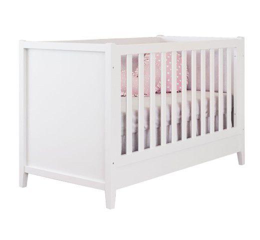Berço de Bebê Naturale Blanc  Puppi Mobile
