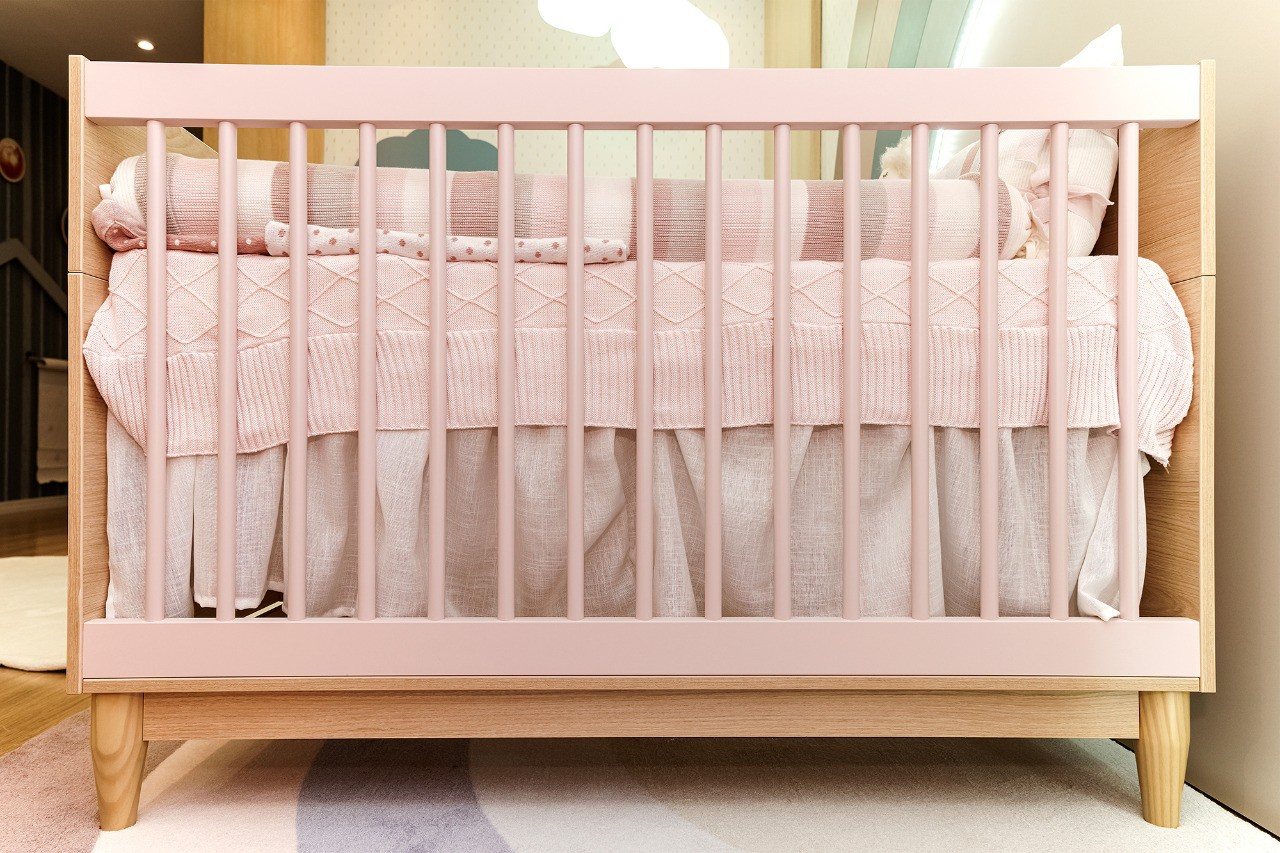 Berço de Bebê Tomi Nacional Quater