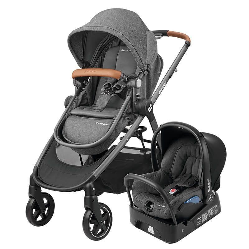 Carrinho de Bebê Anna Trio Sparkling Grey