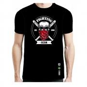 Camisa Camiseta Fighting Club - Caveira - Fb-2064 - Preta
