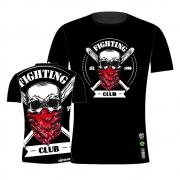 Camisa Camiseta Fighting Club - Caveira - Preta