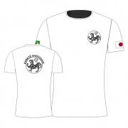 Camisa Camiseta Karate Hoan Kosugi Shotokan - Branca