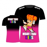 Camisa Camiseta Muay Thai Kids - Feminina - Infantil
