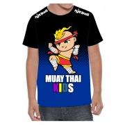 Camisa Camiseta Muay Thai Kids - Masc Infantil - Fb-2069