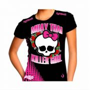 Camisa Camiseta Muay Thai - Killer Girl I - Feminina